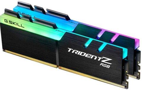 G.SKILL TridentZ RGB Series 16GB (2 x 8GB) (PC4 25600) F4-3200C16D-16GTZR