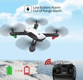 SANROCK U52 FPV Drone with Camera for Kids and Adults, WiFi Live Video Drones, RC Drone Quadcopter Toy with 720P HD Camera for Beginners, App Control, Altitude Hold, Headless Mode, Gravity Sensor, Route Made, 3D Flip, Return Home