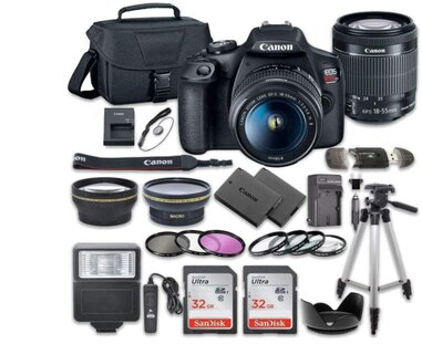the complete package of  DSLR Camera