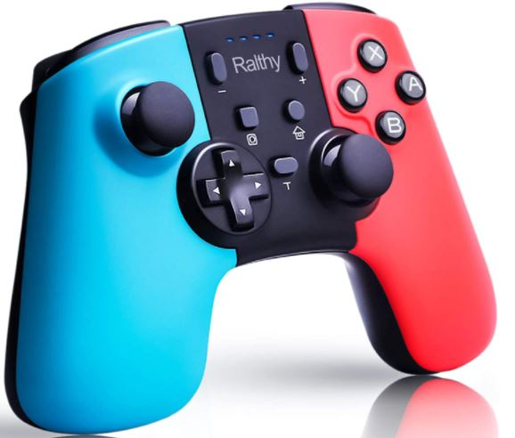 Ralthy Wireless Pro Controller Compatible with Switch/Switch Lite, Remote Pro Controller Gamepad Joystick for Switch Controller, Supports Gyro Axis, Turbo and Dual Vibration #nintendo pro controller #nintendo switch lite controller